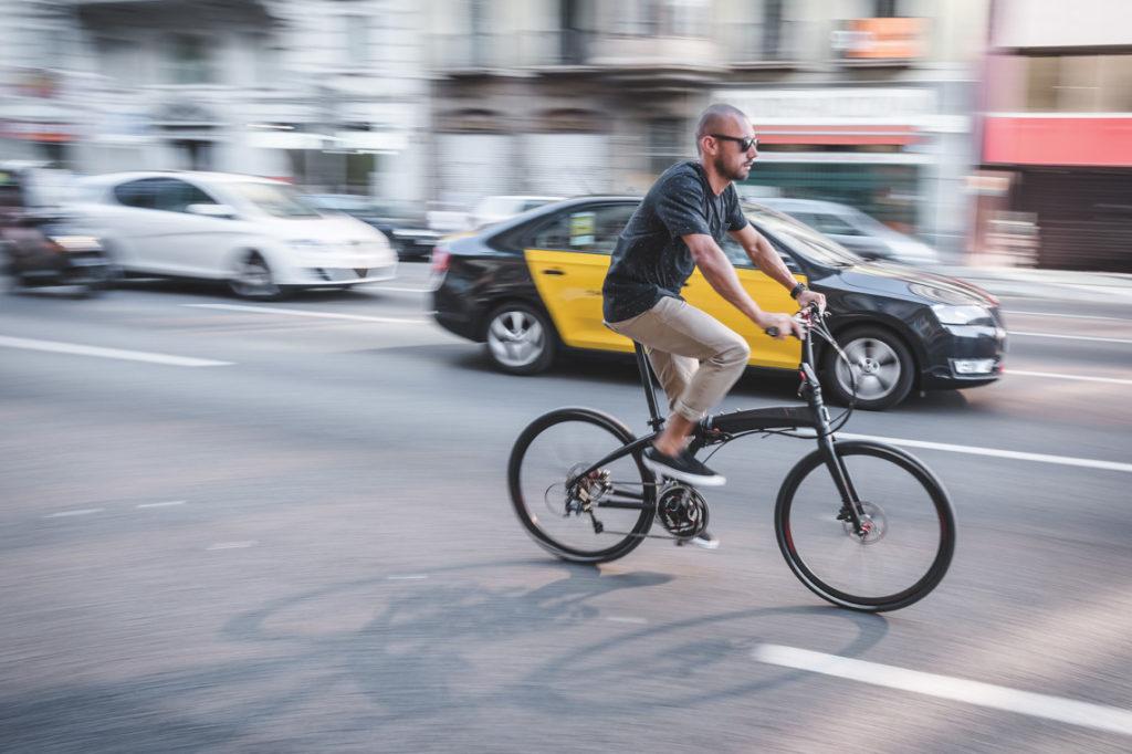 Vélo pliant 26 pouces en ville
