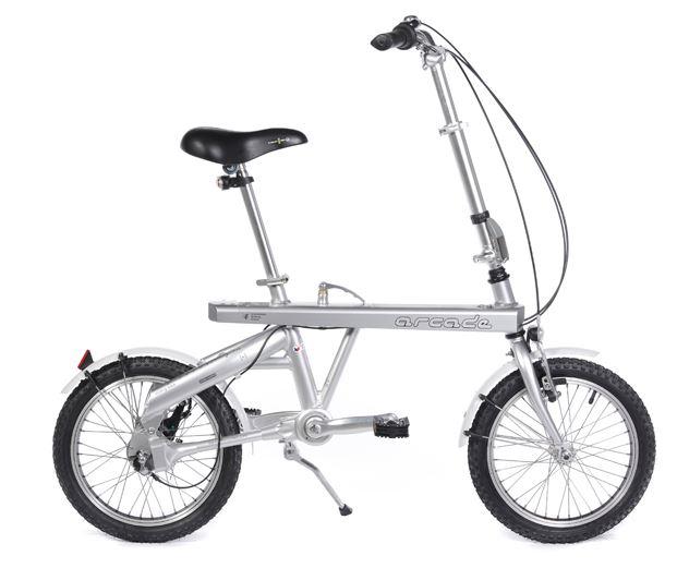 Vélo pliant cardan