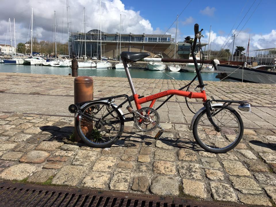 Vélo pliant 1ère génération