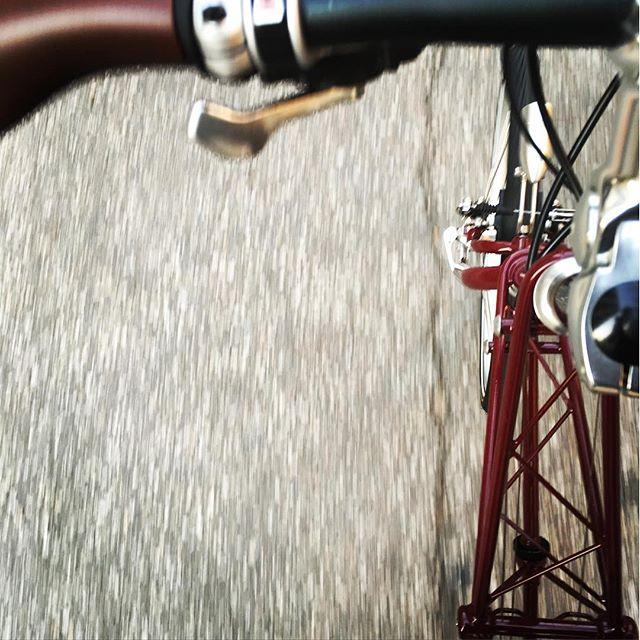 Détail vélo pliant Moulton