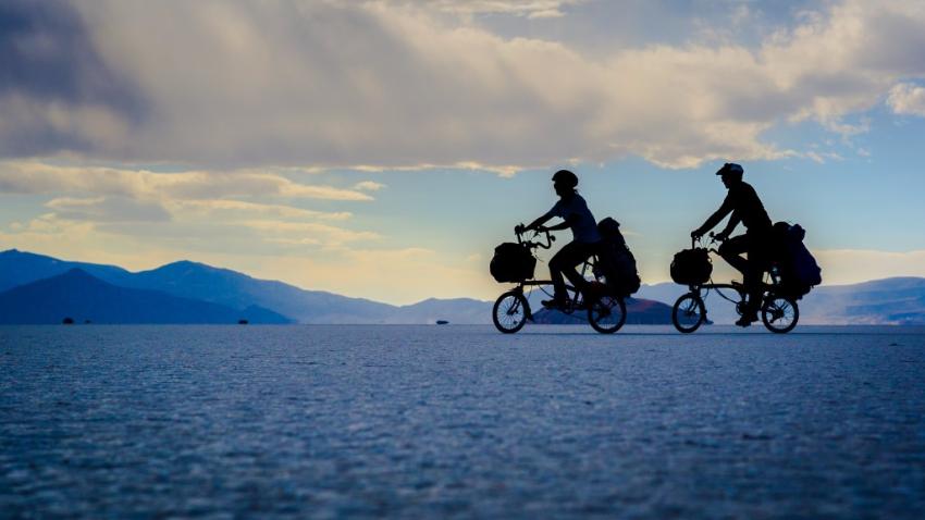 Pourquoi voyager avec un vélo pliant ?