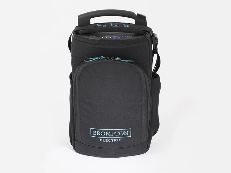 Batterie Brompton électrique dans son sac