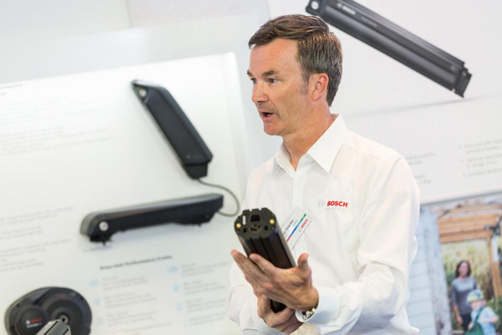 Présentation nouvelle batterie intégrée Bosch 2018