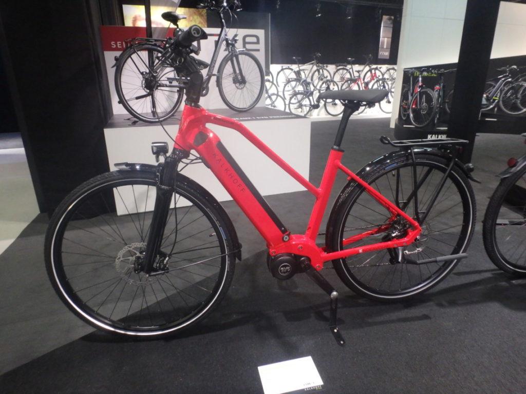 Vélo électrique intégré Kalkhoff endavour 2018