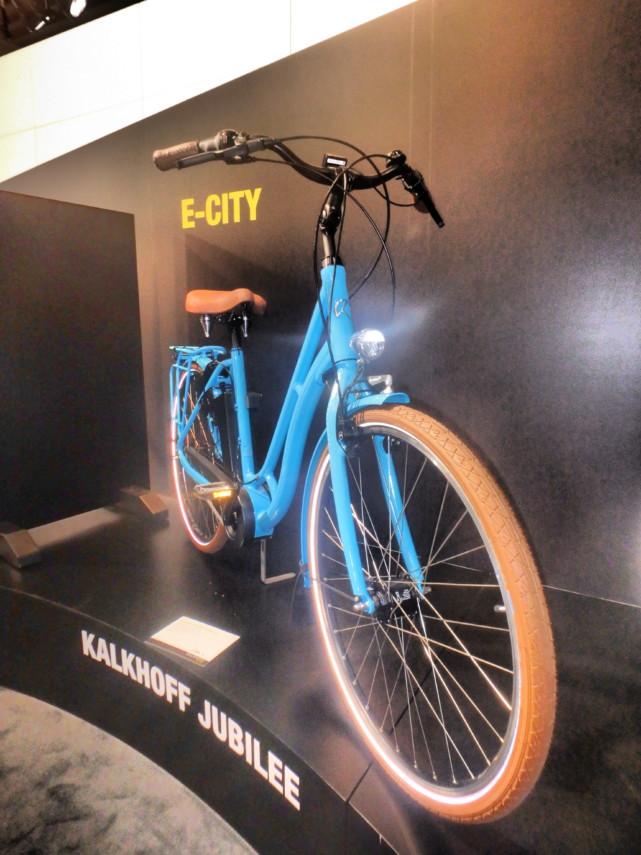Vélo Kalkhoff Jubilee 2018 bleu