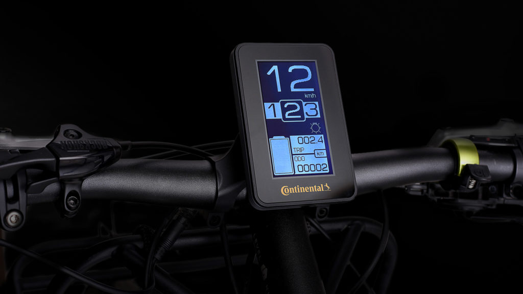 Console vélo électrique Continental