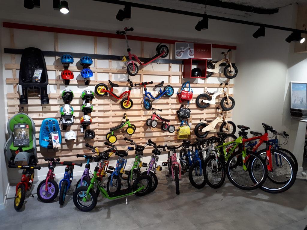 Rayon vélos et draisiennes enfants Cyclable Nantes
