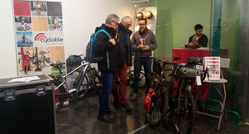 Stand Cyclable Festival du voyage à vélo CCI 2018