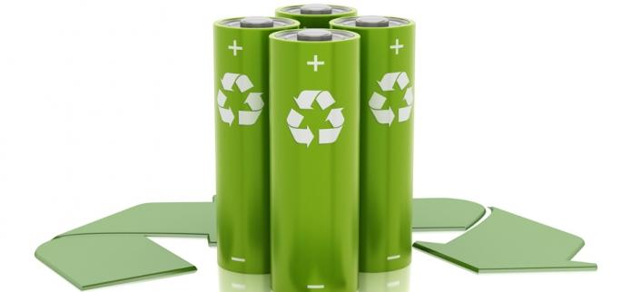 Symbole recyclage batterie