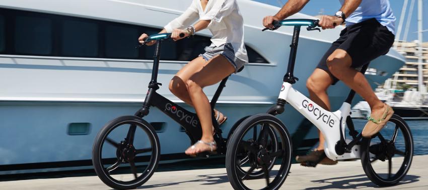Gocycle GS : un vélo électrique pliant au design venu du futur