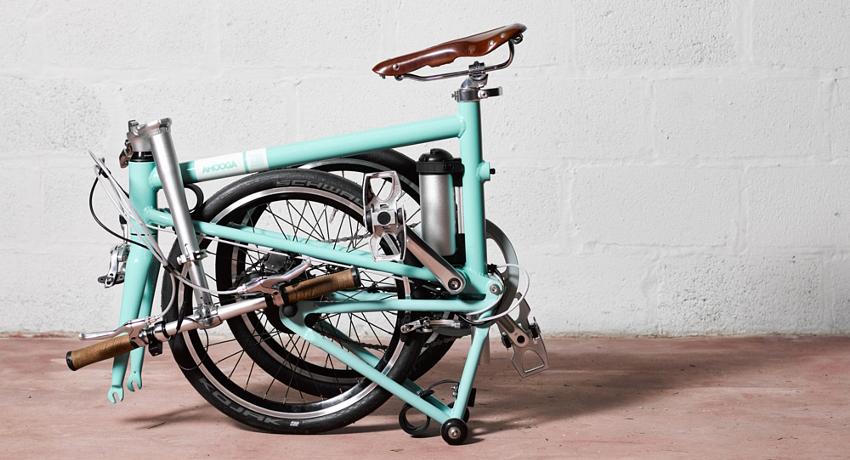 Ahooga : Le vélo pliant électrique venu de Bruxelles