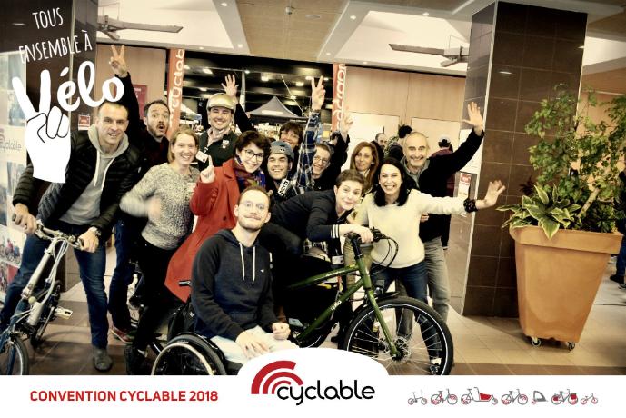Convention annuelle 2018 : vive la grande famille Cyclable !
