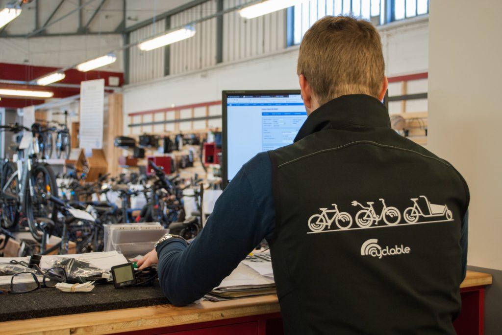 Equipier Cyclable dans le magasin de Maisons-Alfort