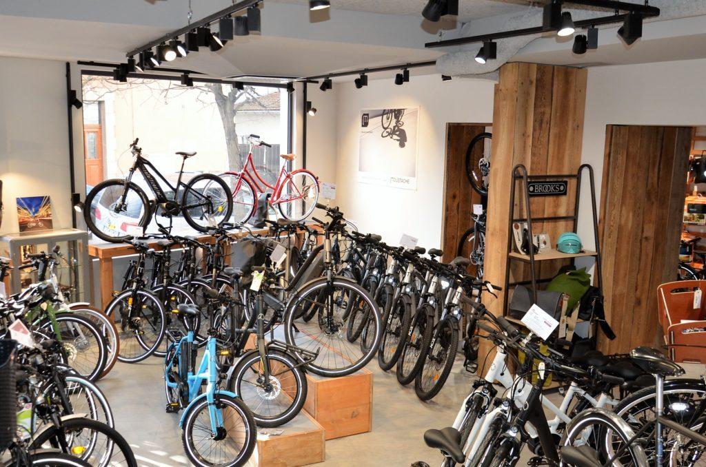 Sélection de vélos électrique magasin du 92