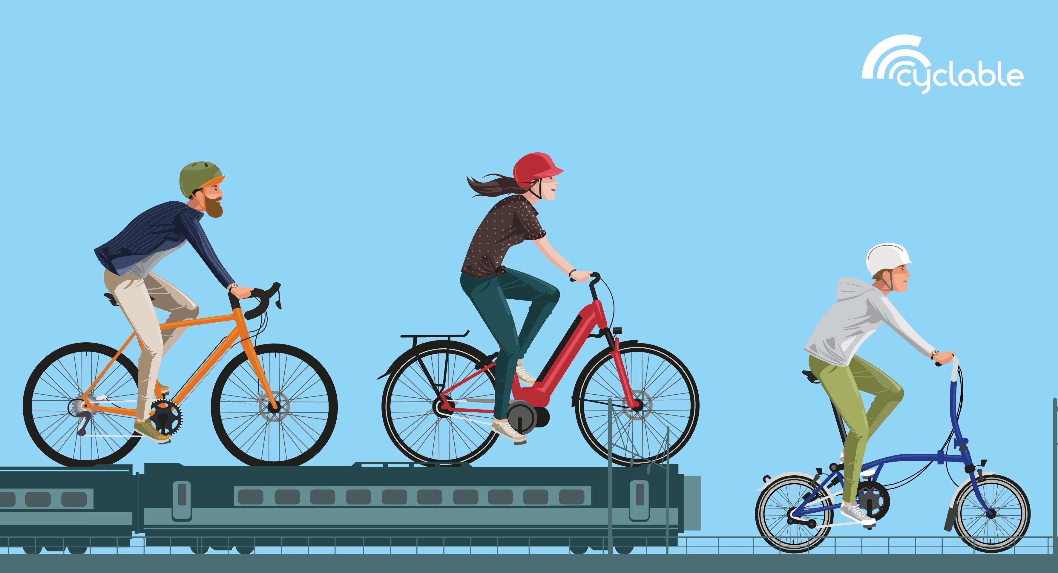 Grève de train et vélo