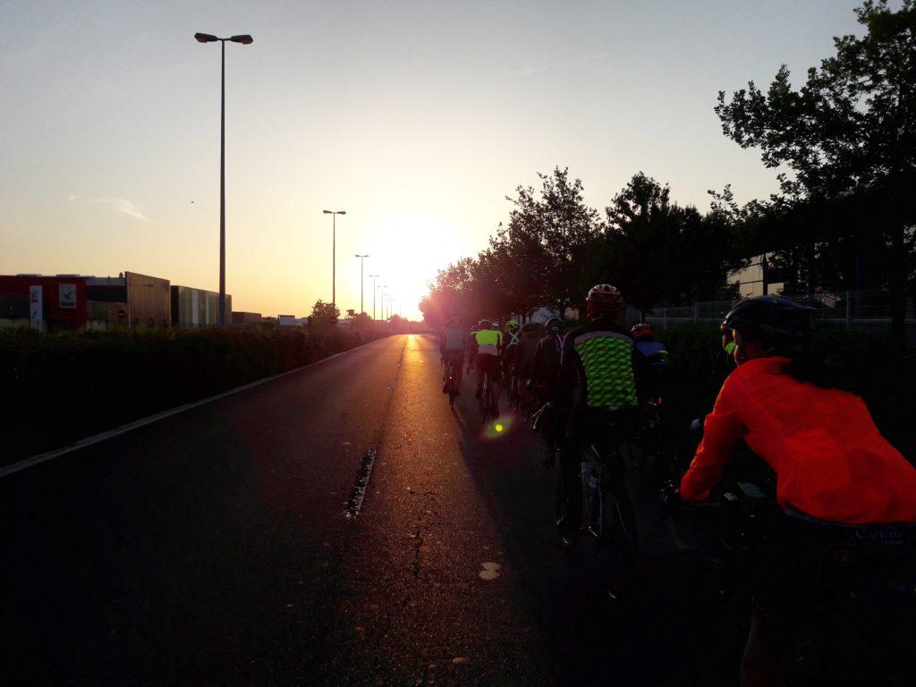 Départ de Clermont - Confluences Cyclable 2018