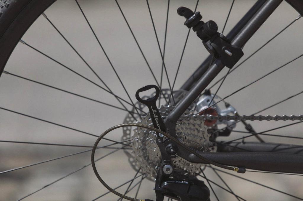 Dérailleur arrière randonneuse tout terrain histoire bike