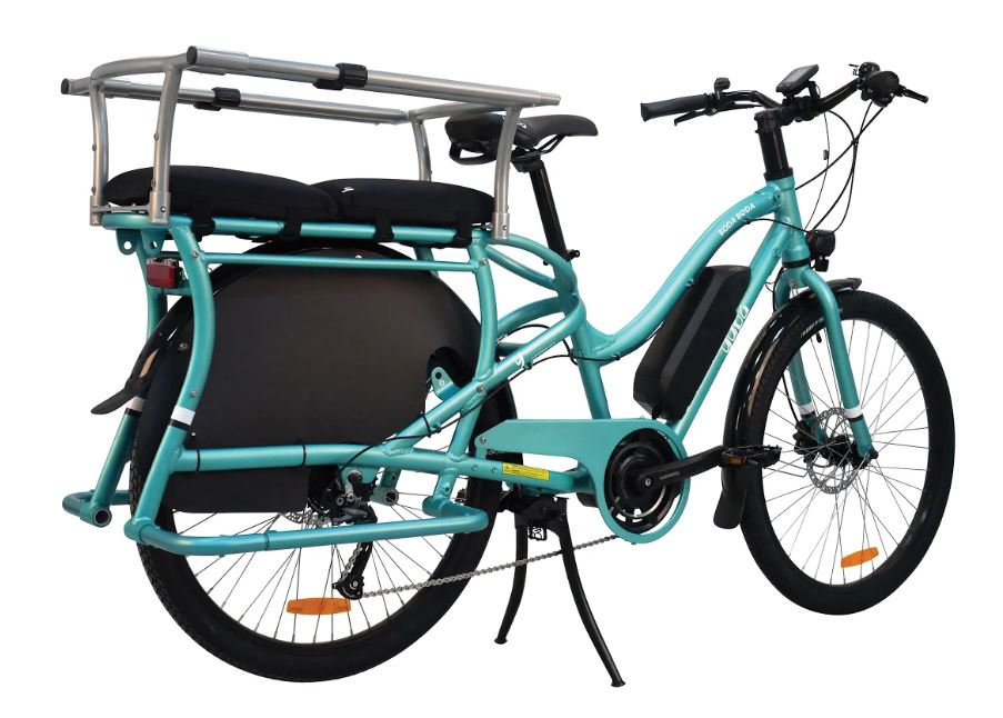 Vélo cargo Yuba avec barres de maintien Monkey bar