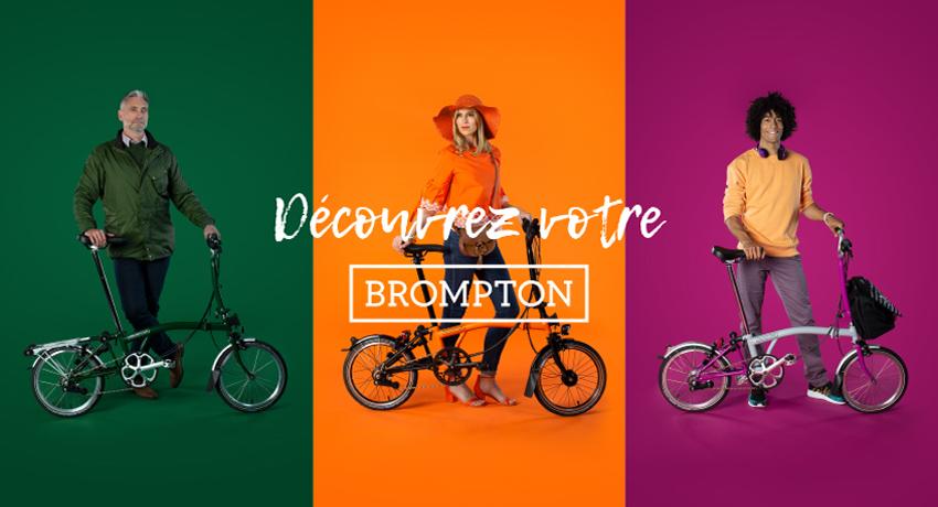 Vélo pliant Brompton… essayer, c'est l'adopter