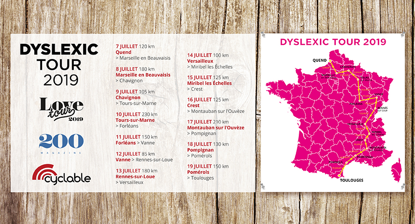 Love Tour 2019 : participez au Love Dyslexic Tour !