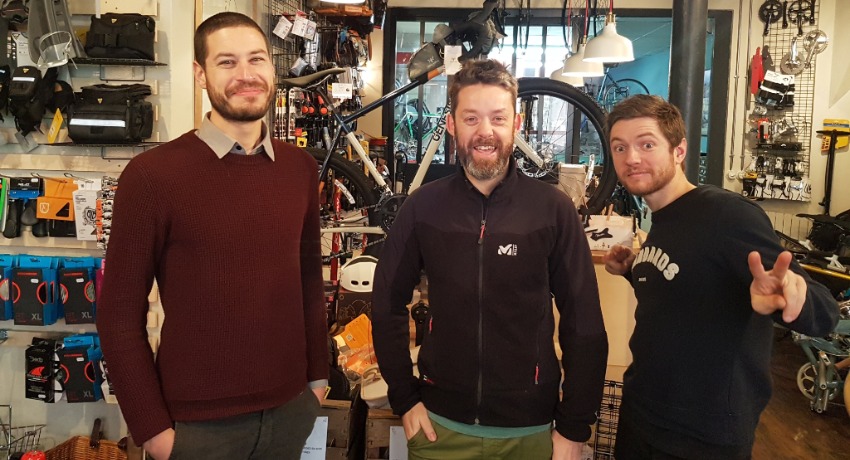 Equipe du magasin de vélos Cyclable Rouen