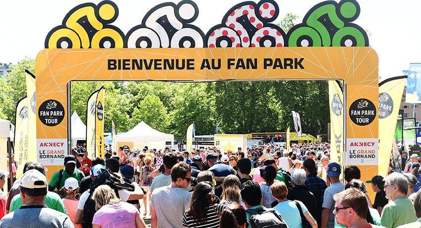 Fan Park du Tour de France en 2018
