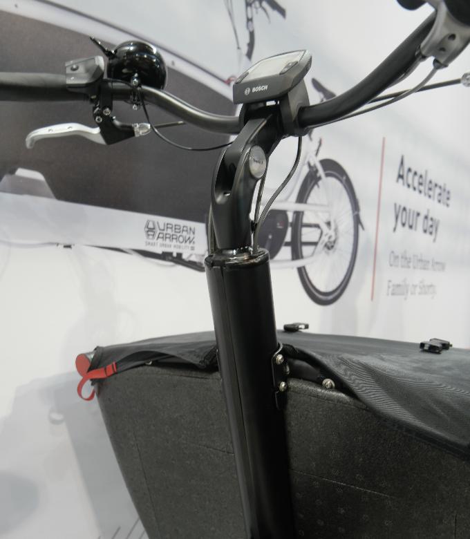 Photos de détails de la version cargobike Urban Arrow 2019