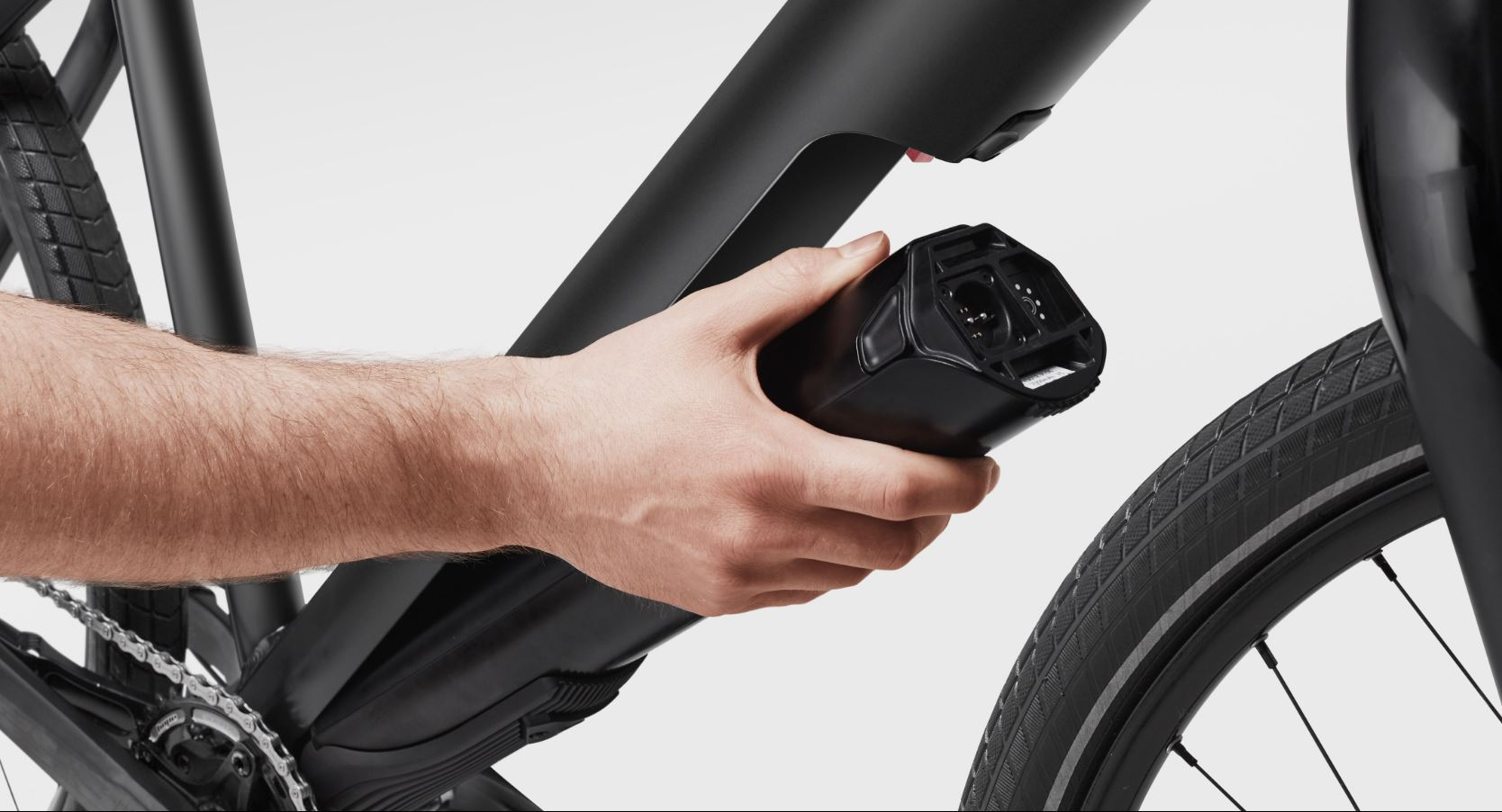 Démontage moteur Fazua sur un vélo de course électrique
