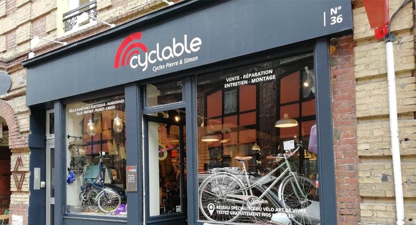 L'aventure d'un magasin de vélos à Rouen : de «Guidoline» à Cyclable
