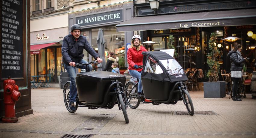 Le vélo cargo compact et longtail à l'honneur à Eurobike 2018