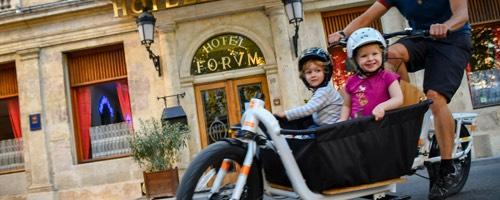 Vélos cargo électriques