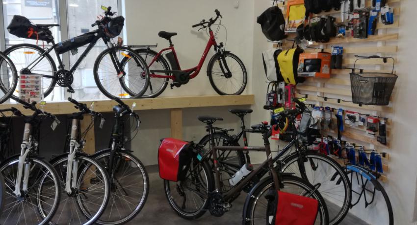 Un magasin Cyclable au cœur du parc du Haut Languedoc