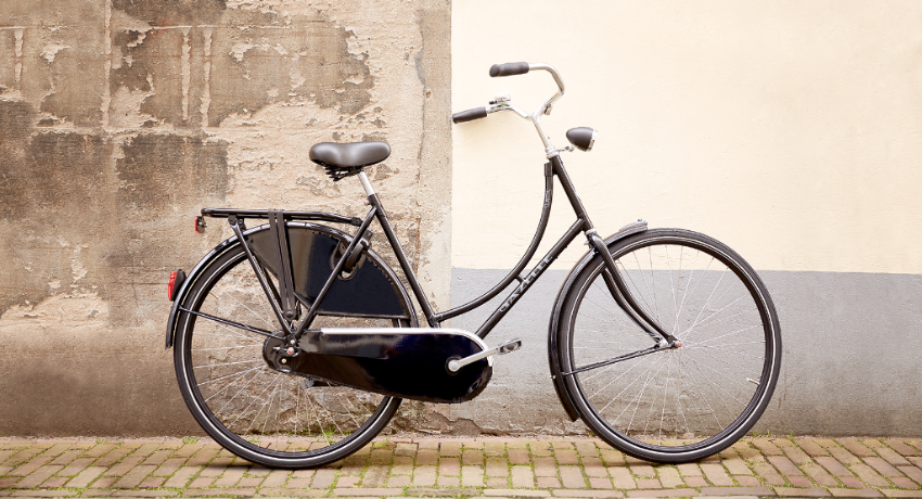 Vélo femme hollandais Gazelle