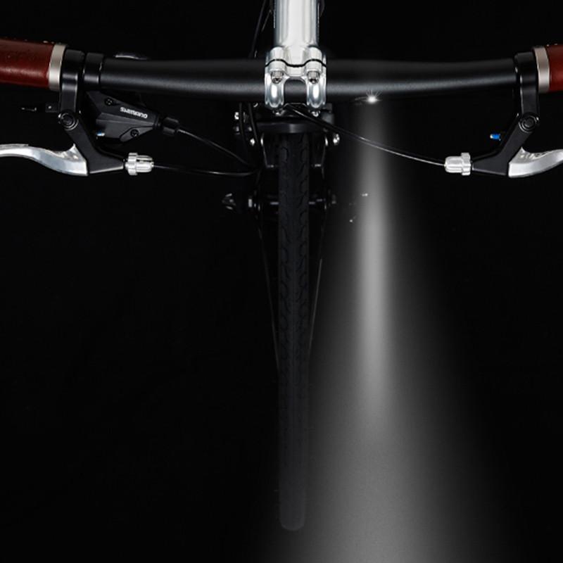 Guidon et tiges de selle vélo avec éclairage intégré