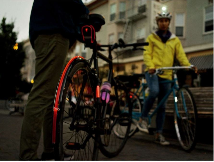 Garde-boue vélo lumineux Topeak