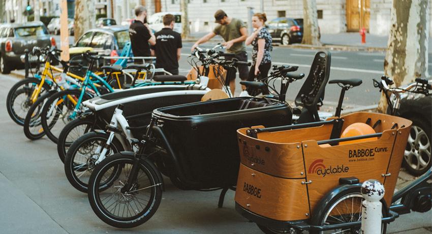 Les journées vélos cargos chez Cyclable