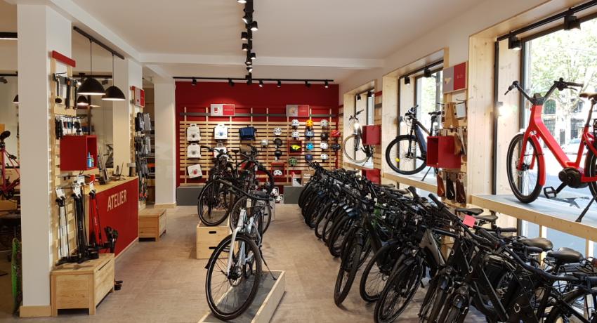 Rayon vélos électriques Cyclable Paris 14