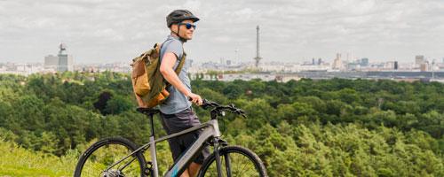 Vélos de randonnée électriques