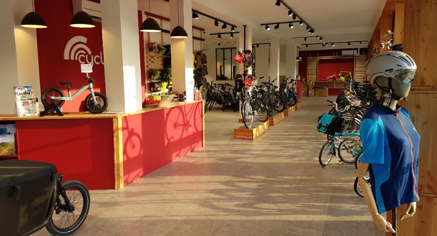 Cyclable au cœur de la « ville parc » de Châtenay-Malabry