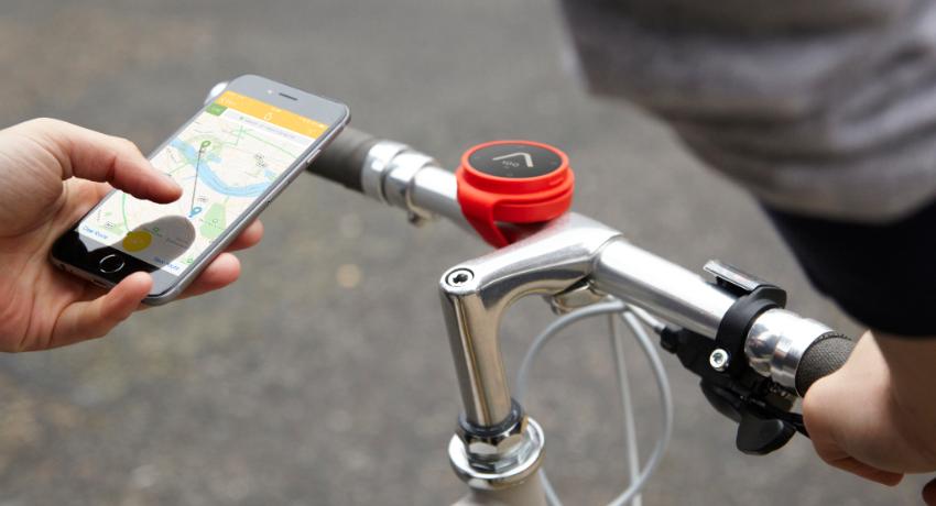 GPS vélo ville Beeline