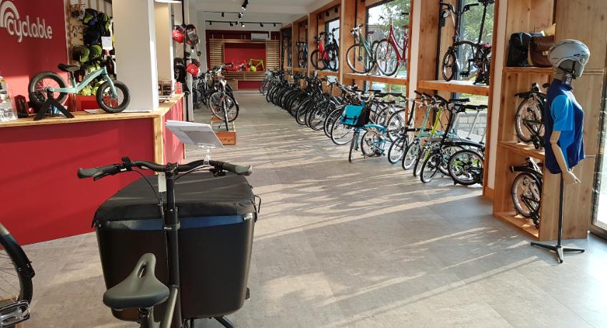Vélo cargo présenté à Cyclable Châtenay Malabry