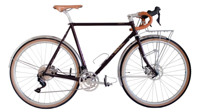 Cycles Meral : de la randonneuse au vélo gravel artisanal