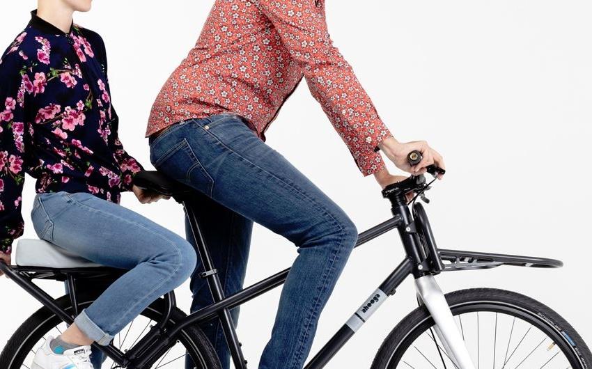 Le vélo cargo compact par Ahooga
