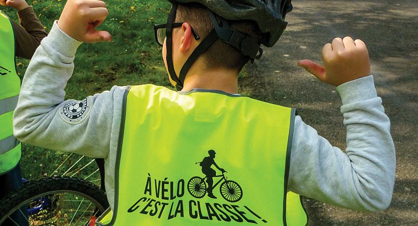 Gilets Verts: vélo et éducation pour tous les enfants