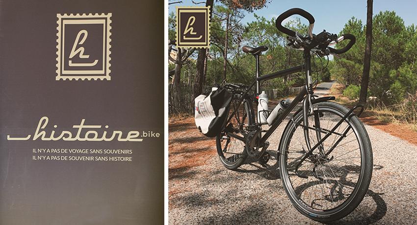 Vélo de randonnée Histoire: le plaisir de voyager à vélo