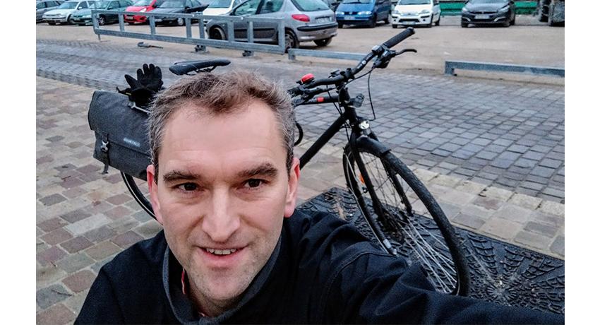 Yvan et son VSF T-500 : un vélo trekking pour le quotidien et les sorties