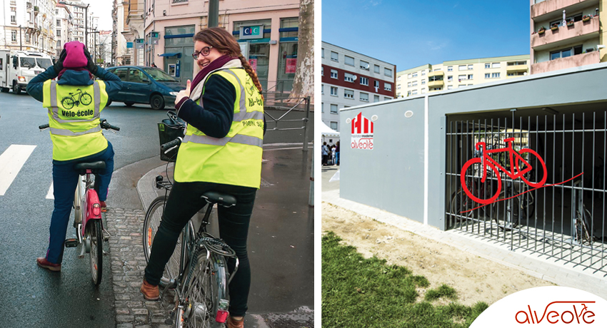 30 000 places de stationnement vélo financées avec le programme Alvéole