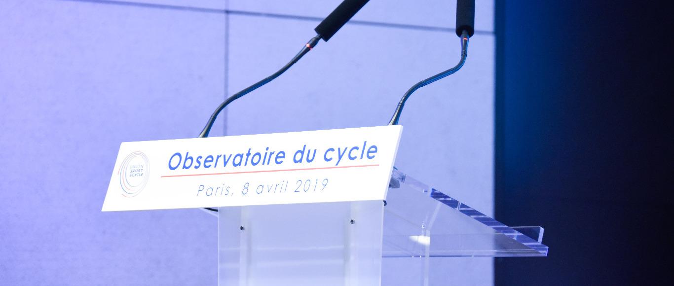 Interventions lors de la présentation des chiffres 2018 sur l'industrie du cycle