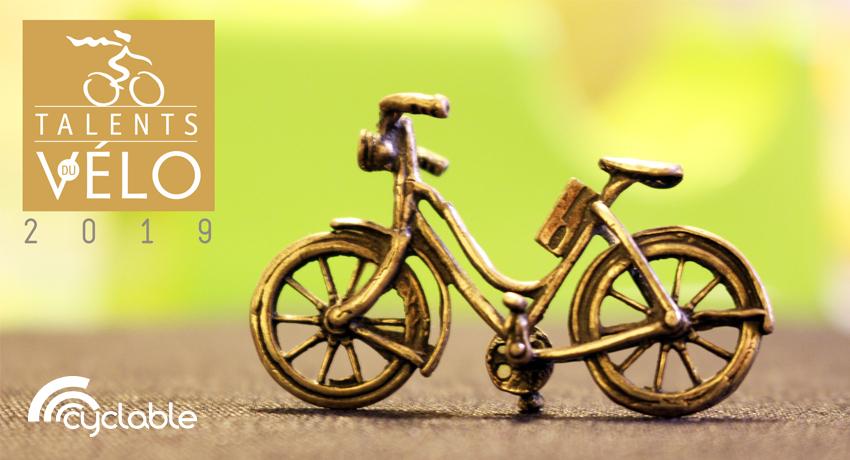Cyclable partenaire des Talents du vélo 2019