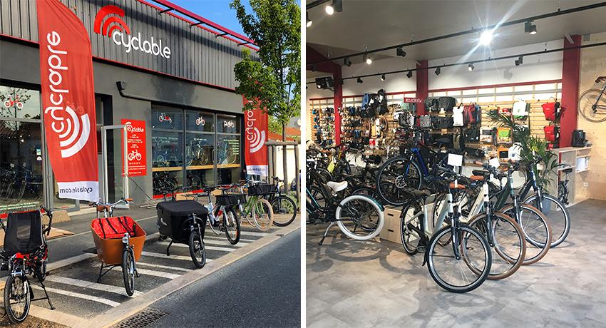 Cyclable Les Sables d'Olonne: un magasin pour la vélo-mobilité en Vendée